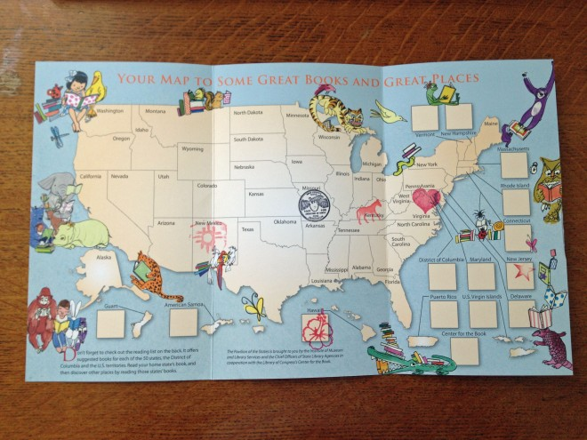 My Book Map!